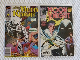 2 Marvel Comics MOON KNIGHT # 13 & 35 - $10.00