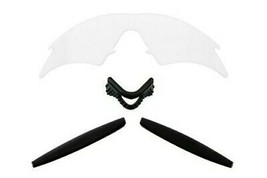 SEEK Replacement Lenses Kit Compatible for Oakley M Frame Sweep Clear & Black - $20.69