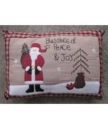 Christmas Decor Pillow  31146S - Blessings of Peace & Joy - $10.95