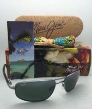 New Polarized MAUI JIM Sunglasses KAHUNA MJ 162-02 59-18 Gunmetal w/Neutral Grey - $299.95