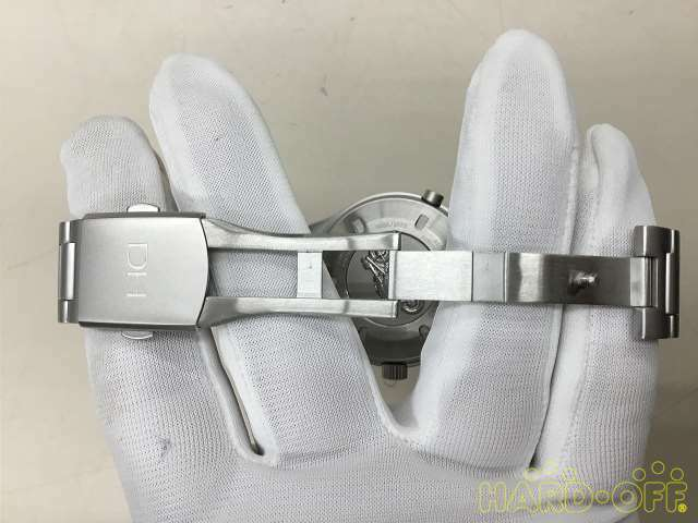Dan Henry Group Quartz Chronograph Watch 0582 1972 Silver Analog image 4