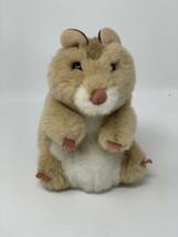 "Folkmanis Realistic Hamster Plush Hand Puppet  6.5"" Stuffed Animal  - $19.79"