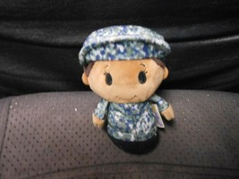 "Hallmark Itty Bittys ""Camo Blue Girl"" 2016 Used Plush No Tag - $5.89"