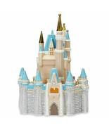 NIB Brand New 2021 Walt Disney World CINDERELLA CASTLE Ceramic Cookie Jar - $128.69