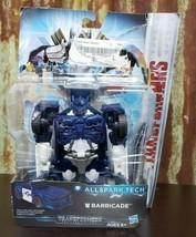 Transformers the last knight Allspark Tech Barricade Action Figure  - $9.50