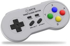 SNES Classic Mini Wireless Controller [Turbo Edition] Super Nintendo Cor... - $14.24