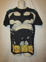 mens dc comics batman suit t-shirt M nwt black tan - $13.95