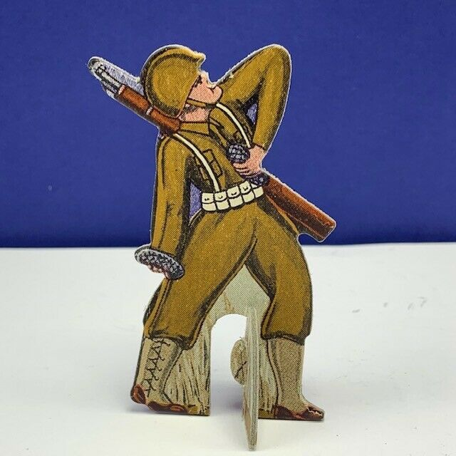Primary image for Bomber Raid vtg board game piece 1943 Fairchild toy soldier military grenadier 2