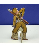 Bomber Raid vtg board game piece 1943 Fairchild toy soldier military gre... - $23.65