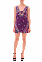 Free People Women's Never Been Embroidered Mini Dress Wild Orchid RRP £1... - $110.30