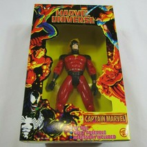 Marvel Universe Captain Marvel Action Figure, 10 inch, Vintage 1997 Toy ... - $29.99