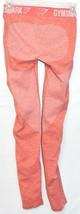 Gymshark Women's Marl Peach Pink Flex Low Rise Body Contouring Leggings Size S image 2