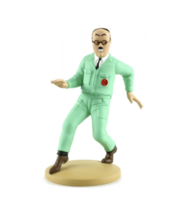 Assistant engineer Frank Wolff resin figurine Official Tintin product New