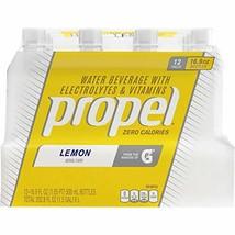 Propel Lemon Zero Calorie Sports Drinking Water with Antioxidant Vitamins C & E