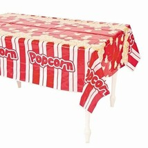 "Popcorn  Tablecloth - 54"" x 108""  -  Plastic Table Cover  - $7.59"