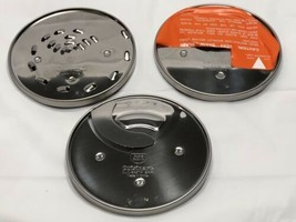Cuisinart Set Of 3 Discs DLC-837TX DLC-842TX DLC-844TX And DH-4C Holder - $29.35
