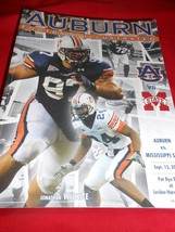 Great AUBURN Football Illustrated Collectible Program Mag-MISS STATE Game 2007 - $18.40