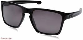Oakley Men's Sunglasses Sliver OO9341-06 Polarized Black Square Brown Prizm Lens - $130.95