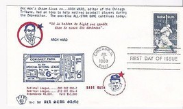 BABE RUTH #2046 CHICAGO, IL JULY 6, 1983 EVANSCRAFT CACHET D-428 - $2.98