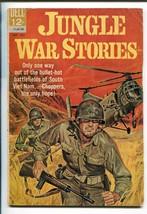 Jungle War Stories #4 1963-DELL-VIET Nam War ACTION-vg - $47.92