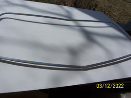 1973 1974 GALAXIE  MONTEREY 4 DOOR REAR BACK WINDOW TRIM MOLDING OEM USED - $184.29