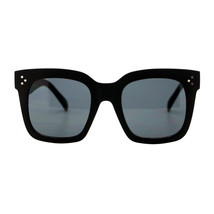 Womens Oversized Fashion Sunglasses Big Flat Square Frame UV 400 - $10.84