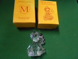 """Great Collectible MOSSER Glass Figure""""All the World Loves a Clown"""" EROS - $12.46"""