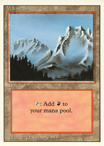 Magic: The Gathering 3rd Edition - Mountain (A) - $0.25