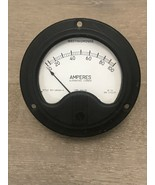 Vintage Westinghouse AC Amperes 0-100 Style BS-68316-4 Type 25-500 cycle... - $18.00