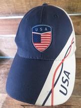 Eua Estados Unidos Of America Azul Rojo Blanco Ajustable Adulto - $10.36