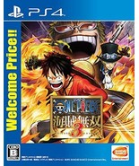 PS4 One Piece Kaizoku Musou 3 Best Price PlayStation 4 Japan Game Anime - $60.97
