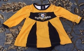 Reebok NFL Team Appearl Pittsburg Steelers Dress Size 12 Months - $12.19