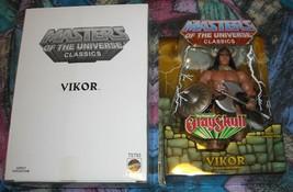 Vikor MOTUC Masters of the Universe Classics MOSC MOC Skeletor He-Man - $80.00