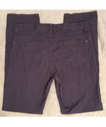 H&M Hennes & Mauritz Button Fly Dark Gray Casual Pants Denim Jeans 34/33... - $24.99