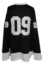 Any Name Number New Zealand Retro Hockey Jersey New Black Any Size image 5