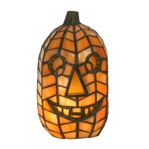 TIFFANY STYLE HALLOWEEN JACK-O-LANTERN LAMP(NEW) - £171.81 GBP