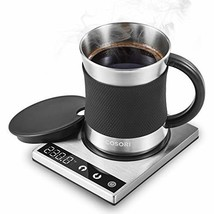 Cosori Coffee Mug Warmer & Mug Set, Electric 24Watt Beverage Cup Warmer ... - $53.47