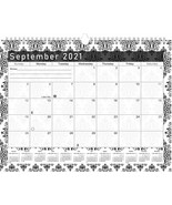 2021 - 2022 Monthly Spiral-Bound Wall / Desk Calendar - 16 Months (Editi... - $12.86