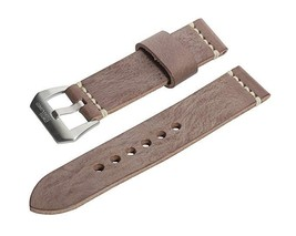 NIP SWISS REIMAGINED 20 mm Brown Wax Finish Genuine Leather Watch Band - $21.95
