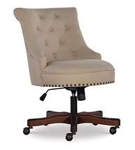 Linon Home Décor Leslie Beige Office Chair - $353.29