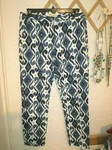 Michael Michael Kors Ikat Print Ankle Pants Size 12 NWT$110 - $45.00