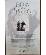 "Jane Birkin Gains Bourg ""Le Symphonique"" 11 x 17 music promo poster - $9.95"