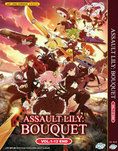 Assault Lily: Bouquet Vol.1-12 End ENGLISH DUBBED Region All Ship From USA