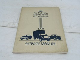 1992 Ford Car & Truck Pre Delivery Maintenance Service Manual - $9.89
