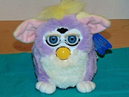 Vtg1998-1999 Furby Purple Pink Yellow More You Play With Me More I Do-El... - $32.90