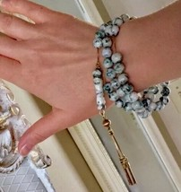 18k Old PRAYER beads Worry beads Antique Agate beads meditation beads ta... - $5,918.50