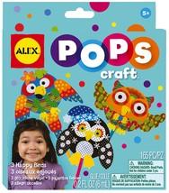 ALEX Toys POPS Craft 3 Happy Birds - $5.23