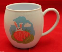 New Starbucks 2006 Easter Bunny Egg Plush Chick Melamine Child Mug Cup Rabbit - $28.78