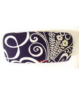 Vera Bradley Hard Clamshell Sunglass Eyeglass Case Twirly Birds Navy NWOT - $28.00
