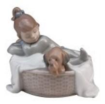 NAO A Basket for Two Porcelain Figurine - $70.04